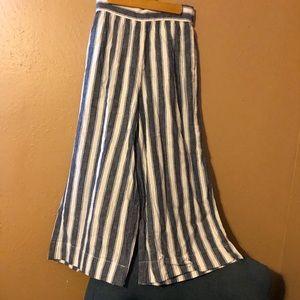 Madewell Huston high waist crop pants GUC size xxl